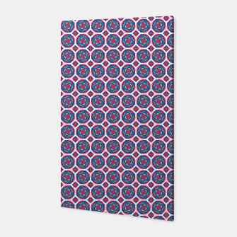 Thumbnail image of Red White and Blue Kaleidoscope Canvas, Live Heroes