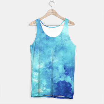 Thumbnail image of Blue galaxy Tank Top, Live Heroes