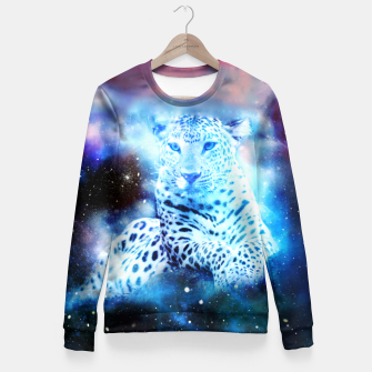 Thumbnail image of Cosmic Wildness Fitted Waist Sweater, Live Heroes