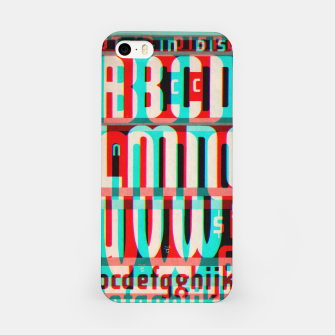 Thumbnail image of Gothic Cut Typo Glitch Version iPhone Case, Live Heroes