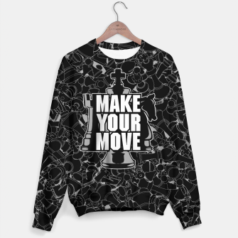 Thumbnail image of Make Your Move Chess Sweater, Live Heroes