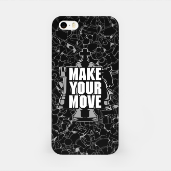 Thumbnail image of Make Your Move Chess iPhone Case, Live Heroes