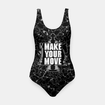 Thumbnail image of Make Your Move Chess Swimsuit, Live Heroes