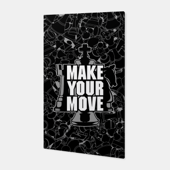 Thumbnail image of Make Your Move Chess Canvas, Live Heroes