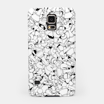 Thumbnail image of Chess Pattern WHITE Samsung Case, Live Heroes