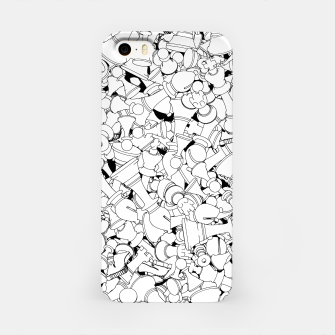 Thumbnail image of Chess Pattern WHITE iPhone Case, Live Heroes