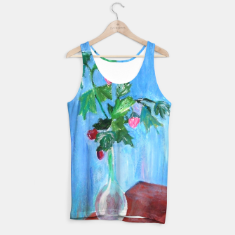 Miniatur flowers in a bottle Tank Top, Live Heroes