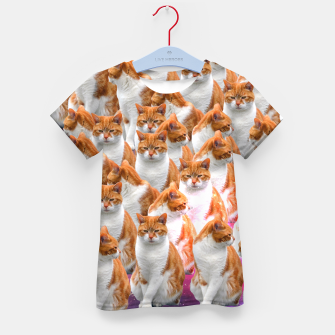 Thumbnail image of Cosmic Cats Bluza Kid's T-shirt, Live Heroes