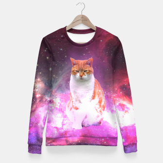 Thumbnail image of Astro Cat Fitted Waist Sweater, Live Heroes