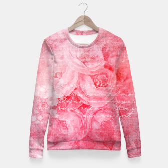 Thumbnail image of Pinkish Love Fitted Waist Sweater, Live Heroes
