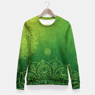Thumbnail image of Greenery Divina Fitted Waist Sweater, Live Heroes
