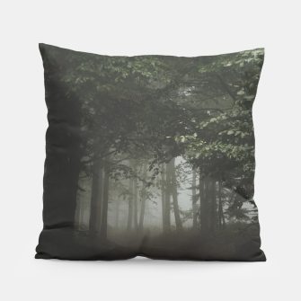 Thumbnail image of Moody Woods Pillow, Live Heroes