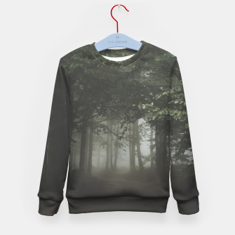 Thumbnail image of Moody Woods Kid's Sweater, Live Heroes