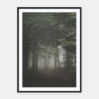 Thumbnail image of Moody Woods Framed poster, Live Heroes