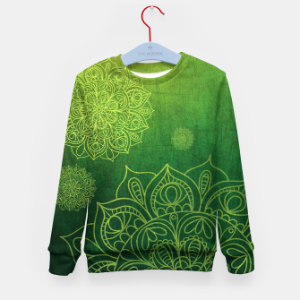 Thumbnail image of Greenery Divina Kid's Sweater, Live Heroes