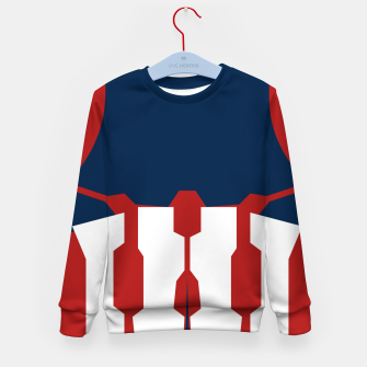 Thumbnail image of Defense Suit Kid's Sweater, Live Heroes