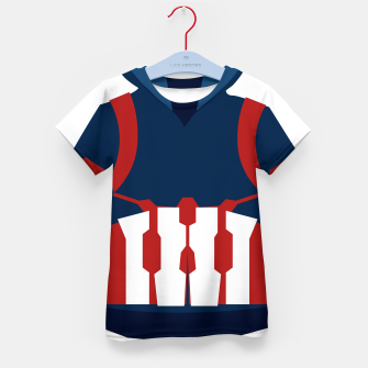 Thumbnail image of Defense Suit Kid's T-shirt, Live Heroes