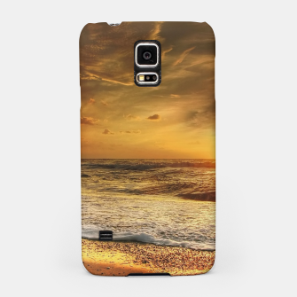 Thumbnail image of Beautiful California summer beach at sunset time Samsung Case, Live Heroes