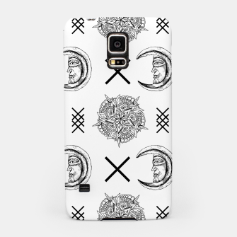 Miniaturka Boho in Black and White Samsung Case, Live Heroes