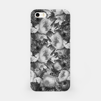 Miniaturka Floral Grey iPhone Case, Live Heroes