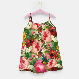 Miniaturka Colorful Floral - Je t'aime encore Girl's Dress, Live Heroes