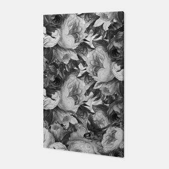 Miniaturka Floral Grey Canvas, Live Heroes