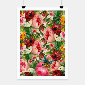 Miniaturka Colorful Floral - Je t'aime encore Poster, Live Heroes