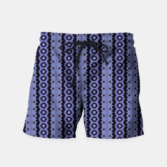 Thumbnail image of Blue Caterpillar Crawl Swim Shorts, Live Heroes