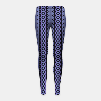 Thumbnail image of Blue Caterpillar Crawl Girl's Leggings, Live Heroes