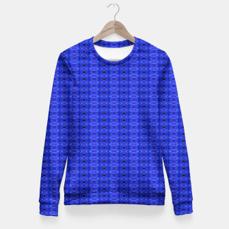 Thumbnail image of Blue Swags Fitted Waist Sweater, Live Heroes