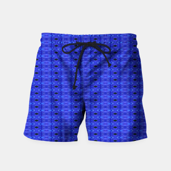 Thumbnail image of Blue Swags Swim Shorts, Live Heroes