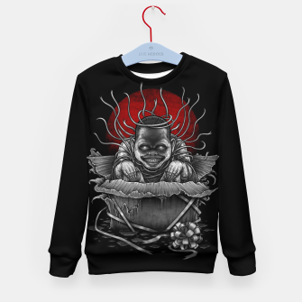 Thumbnail image of Winya No. 127 Kid's Sweater, Live Heroes