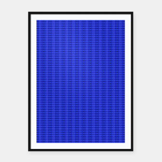 Thumbnail image of Blue Swags Framed poster, Live Heroes