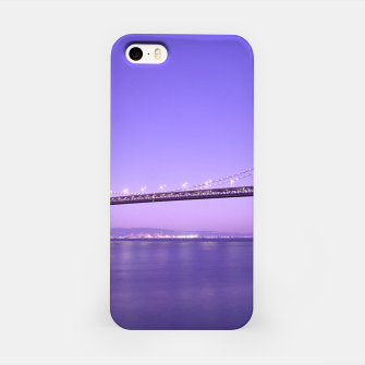 Thumbnail image of Magnificent San Francisco–Oakland Bay Bridge California at spectacular sunset iPhone Case, Live Heroes