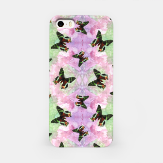 Miniaturka Urania ripheus butterfly watercolor pattern iPhone Case, Live Heroes