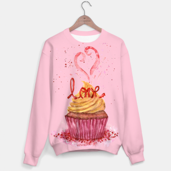 Thumbnail image of Cupcake_LOVE Sweater, Live Heroes