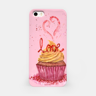 Thumbnail image of Cupcake_LOVE iPhone Case, Live Heroes