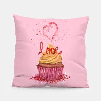 Thumbnail image of Cupcake_LOVE Pillow, Live Heroes