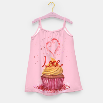 Thumbnail image of Cupcake_LOVE Girl's Dress, Live Heroes
