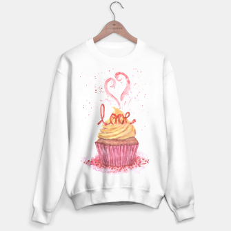 Thumbnail image of Cupcake_LOVE2 Sweater regular, Live Heroes