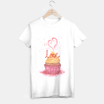 Thumbnail image of Cupcake_LOVE2 T-shirt regular, Live Heroes