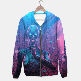 Thumbnail image of Artificial Secrets Hoodie, Live Heroes