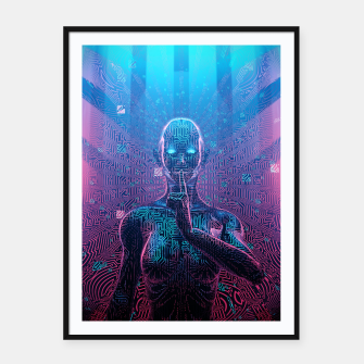Thumbnail image of Artificial Secrets Framed poster, Live Heroes