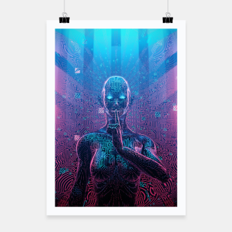 Thumbnail image of Artificial Secrets Poster, Live Heroes