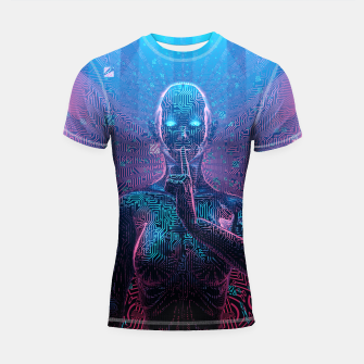 Thumbnail image of Artificial Secrets Shortsleeve Rashguard, Live Heroes