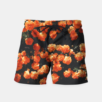Thumbnail image of Beautiful orange color summer flowers Swim Shorts, Live Heroes