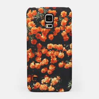 Thumbnail image of Beautiful orange color summer flowers Samsung Case, Live Heroes