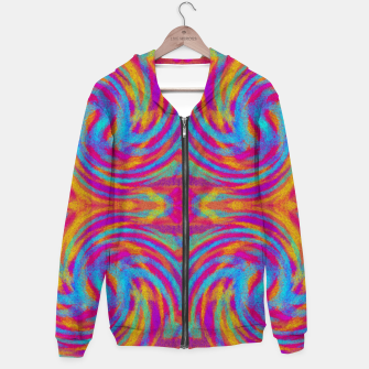Thumbnail image of Bright Swirls Hoodie, Live Heroes