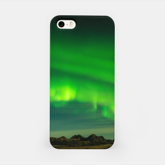 Thumbnail image of Beautiful Green Iceland northern lights iPhone Case, Live Heroes