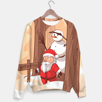 Thumbnail image of Christmas New Year - Sweater, Live Heroes